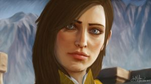 Inquisitor Aeva Trevelyan by Auridesion