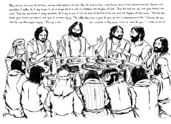 The Lord's Supper by panzerjon