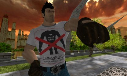 Serious Sam 'District 9' style by SeriousWytas