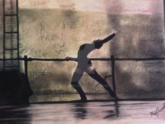 dancing painting by majood