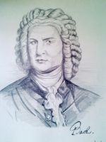 J.S. Bach by Rossi-Rosedeni