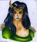 Lady Loki by laburnum-salix