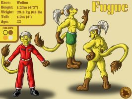 Character Layout - Fugue by Lysozyme