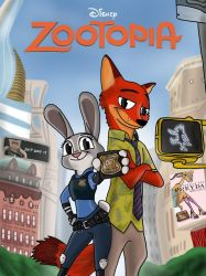 Zootopia Redesign Poster By Skyfallerart by TheNoblePirate