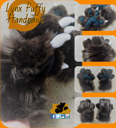 Lynx Puffy Handpaws by SamTheMoose101