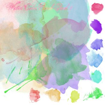 Watercolor Brush Pack 2 by youstolemysoul2