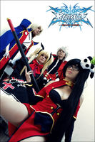 Blazblue ACTION by WoBu-Chan