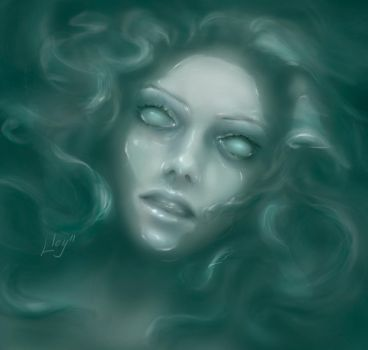 drowned woman by Lloy99
