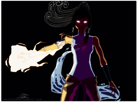 Avatar Korra by themockingmirror