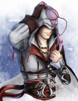AC 2 - Ezio teh heartbreaker by hiddenmuse