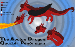 Avalon Dragon Character Sheet by Quachir