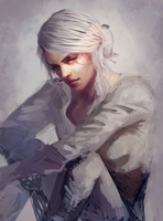 The Witcher 3 : Cirilla by atutcha