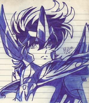 Saint Seiya: Aiolos de Sagitario by PrincessPop13