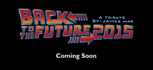 Back to the Future 2015 Comic by gaudog