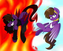 I Can Be Your Angle Or Yuor Devil by BefishProductions
