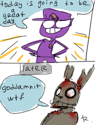 fnaf, doodles 4 by Ayej