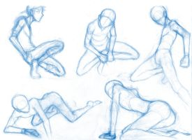 Random poses 22 by BBstudies