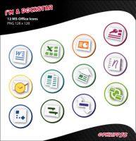 Dockstar: MS-Office 07 Icons by Philipp-JC