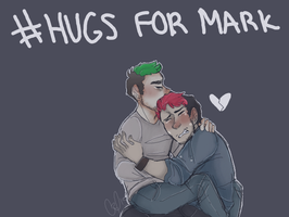 -Jack give Mark a hug by Glossomer