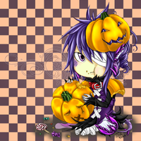 Volsa: Halloween Chibi Urai by ThreeWayDart