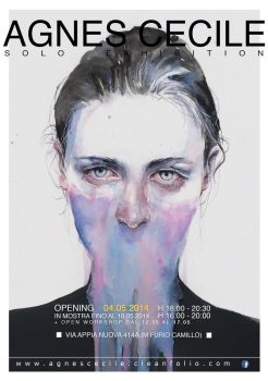 solo exhibition | ROME by agnes-cecile