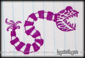Another Snakey Thing by mslaynie