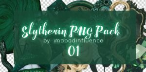 Slytherin PNG Pack by imabadinfluence
