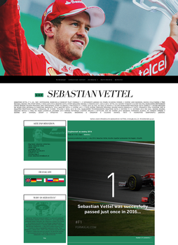 SEBASTIAN-VETTEL-FANS.BLOG.CZ | ORDERED LAYOUT 03 by lenkamason