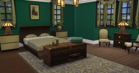 Greenville Master Suite by BUILDSims