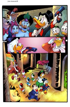 Scrooge McDuck by puzzlepalette