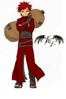 Gaara Coloured by l3xxybaby