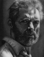 Logan - Wolverine Pencil Portrait by TricepTerry