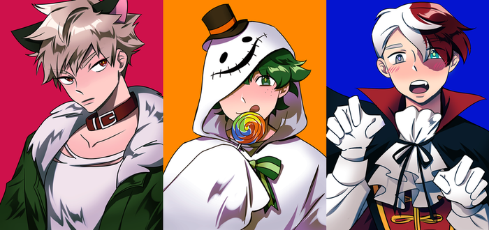 Boku no Halloween by chewbeary