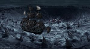 Charybdis by OliverInk
