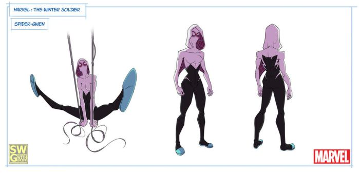 Spider-Gwen. Winter Soldier: The Animated Series. by Griff-84