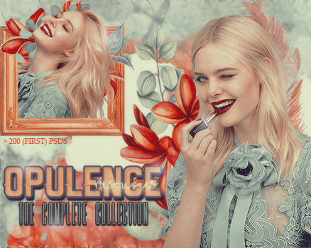 The Complete Collection  I  200 PSDS by OpulenceResources