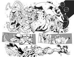 Fantomex MAX, Issue 3, page 3 and 4 by Inkpulp