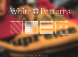 White Patterns    Clari by RadiantDay