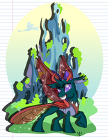 Pharynx Print by Lightning-Bliss