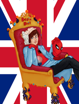 Basic-ly Spider Queen Brit by laura2esmee
