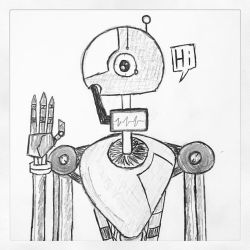 Mechanized Greetings by TheEpicBeyond