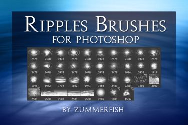 Zummerfish's Ripples Brushes by zummerfish