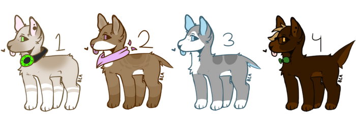 [CLOSED] Cheap Doggo Adopts by KovviiAdopts