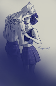 you sway and I follow Your Lead by DreamaDove93