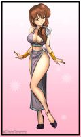 Kasumi As Slave Dancer By Robertoagm by AndronicusVII