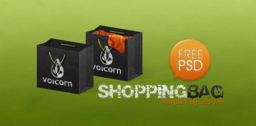 Shopping Bag Template by Sed-rah-Stock