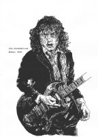 Angus Young by Jaizz