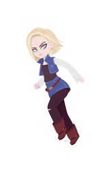 Android 18 by beyx