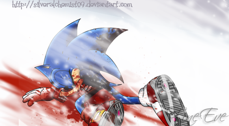 Sonic - Blood and Snow by SilverAlchemist09