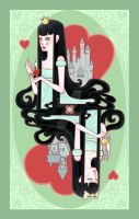 Queen of Hearts by raevynewings